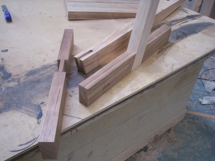 Making A Conoid Style Chair 187 T I M B E R C A B I N E T S